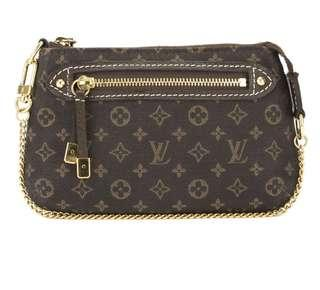 LOUIS VUITTON Monogram Mini Lin Mini Pochette
