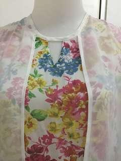 #dibuangsayang Blouse floral