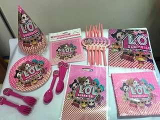LOL surprise doll party set