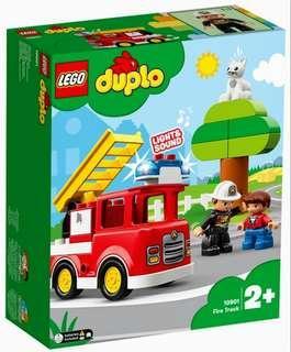 Lego Duplo 10901Fire Truck 2019 21 pcs