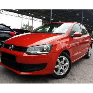 2012 VOLKSWAGEN POLO 1.2 (A) For Lady