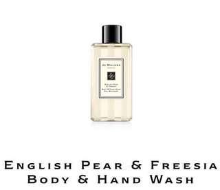 Jo Malone English Pear & Freesia Body & Hand Wash 100ml
