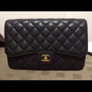 Chanel single flap jumbo