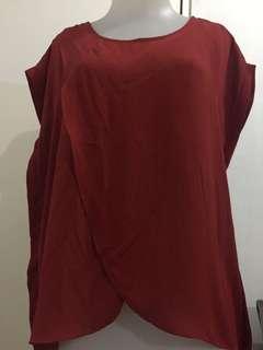 #dibuangsayang Red blouse