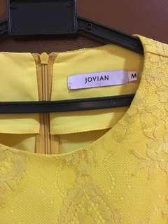 Jovian yellow top lace