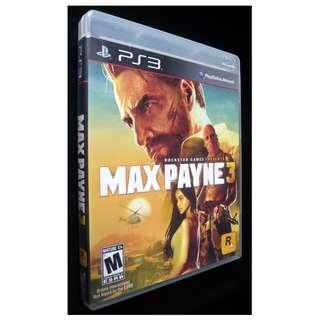 May Payne 3 PlayStation 3 PS3 Game