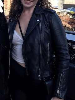 Negotiable price- Authentic leather jacket - topshop