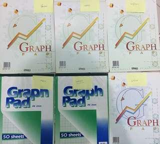 🚚 Graph pad/ graph paper