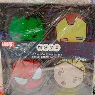 Disneyland迪士尼Marvel food container食物膠盒