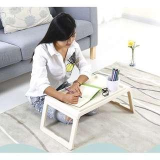 Muji Fold Laptop Table On Bed