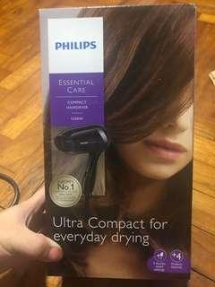 Philips Compact Hair Dryer BHD001 (warranty till 2021 Apr 3)