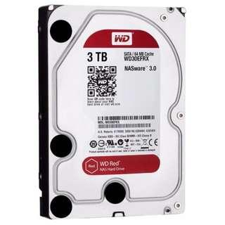 WD Red 3TB NAS HDD With Warranty