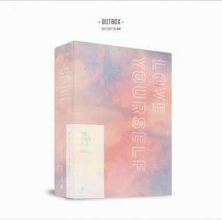 [LOOSE] BTS LY Tour live in Seoul DVD