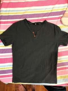 🚚 dark grey shirt men