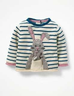 Baby Girl Knitted Jumper / Sweater