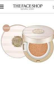THE FACE SHOP Cushion Miracle Finish SPF 50+