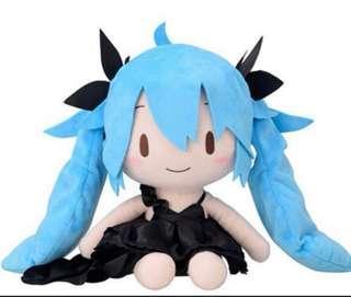深海之女 性感黑色裙 初音 Hatsune Miku