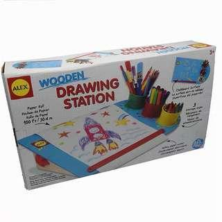 50%off! Educational Toy Alex drawing station-wooden