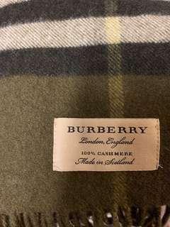 Burberry 格仔紋頸巾