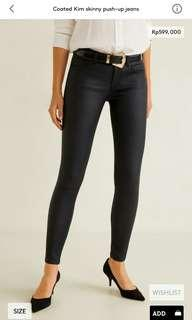 Skinny push-up jeans woman mango original