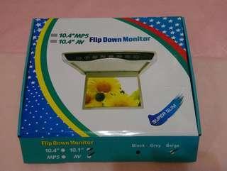 10.1吋 米色後置吊屏(Flip Down Monitor)