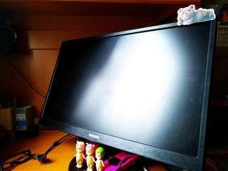 Philips 240v5q 功能的LCD顯示器