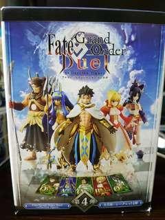 Fate Grand Order FGO Duel Collection Figure 第4彈 Vol.4 Rider 拉二 No.020 盒蛋 模型 公仔 1款