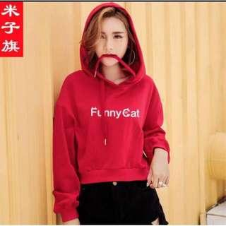 Sweater bahan babytery fit L