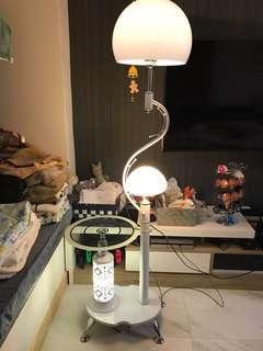小茶几連可調校枱燈(LED)