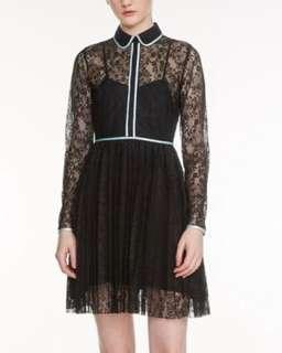 maje Rabilo Dress Black