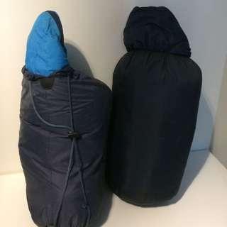睡袋降價(淺藍、深藍)Sleeping Bag