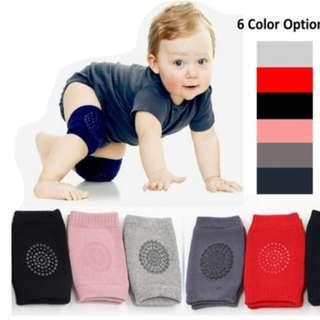 (PO) oddler Baby Safety Crawling Non-Slip Cushion Protective Sheath Knee Elbow Pads