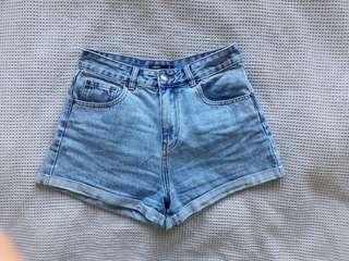 Glassons Denim Mom Shorts