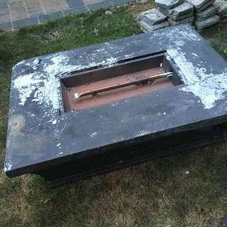 Canvas Gas Firetable