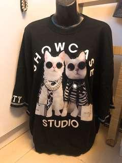 Chanel Style Meow meow Tee
