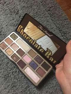 Authentic Chocolate Bar Palette