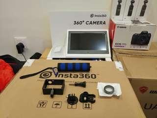 Gopro Hero 4 Go pro Protector Frame + UV Filter + Base + screw + Tripod Adapter + Handle