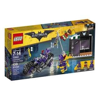 🆕 LEGO 60902 Batman Movie Catwoman Catcycle Chase