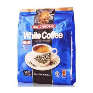 益昌老街 二合一 白咖啡(無糖)