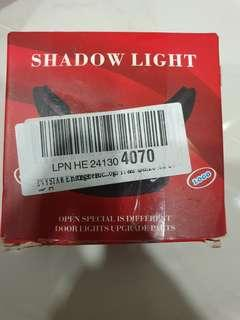 Shadow light for Mercedes Benz w204 AMG