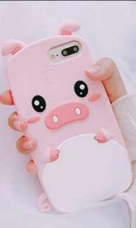 3D Cute QQ Oink Oink Case