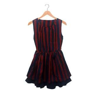 Stripes Bell Dress