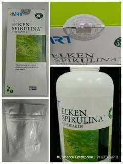 Elken Spirulina 300 Tablets - Free Shipping