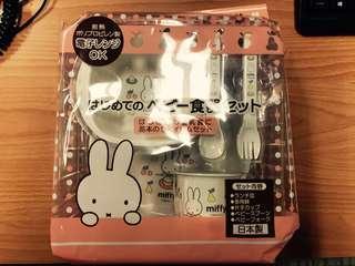 日本製 Miffy 餐具套裝 食器 BS-040 Dick Bruna
