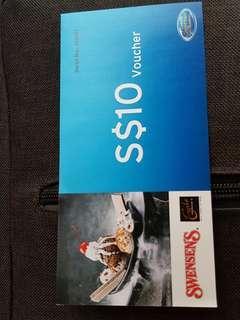 $10 Swensen's Voucher (Citibank)