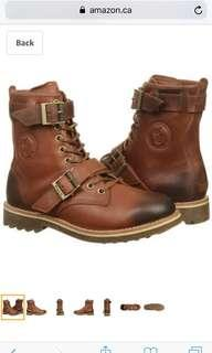 Polo Ralph Lauren Mens Boots Maurice Syrup Brown Leather