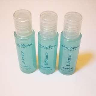 🆕 SET OF 3 Crabtree & Evelyn La Source ® Shampoo 30mL Travel Size