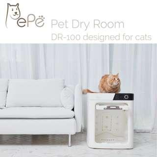 PEPE Dry Care Room ( cats,dogs and rabbits)