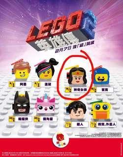 麥當勞 開心樂園餐 Lego 2 英雄傳 - 神奇女俠