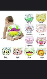 🚚 Cute Baby Washable Diapers